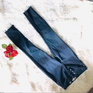 Re/Done Originals Size 27 Black Jean Mint